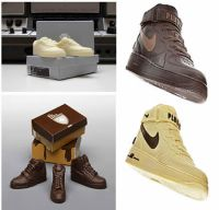 Chocolade sneakers